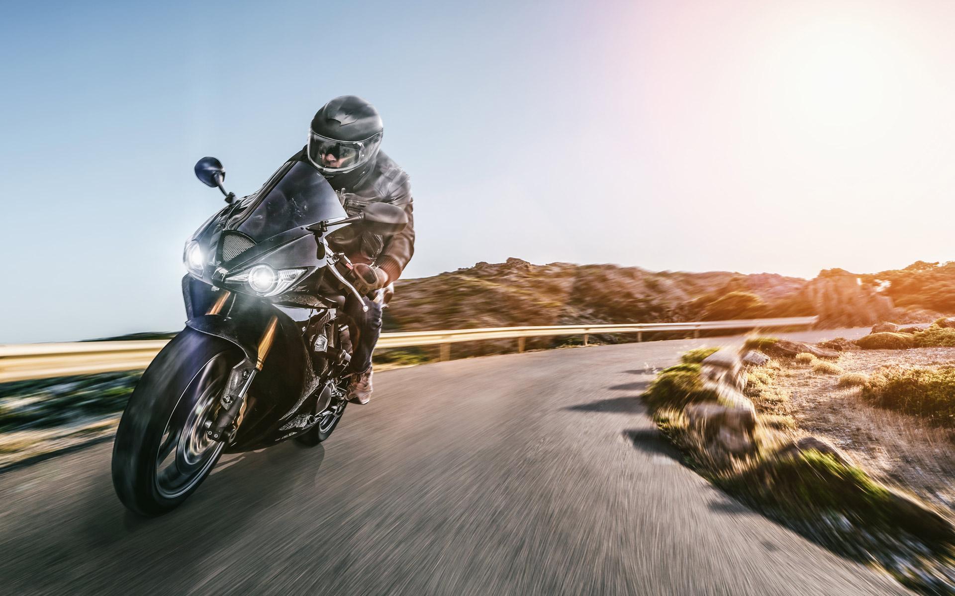 Geschäft für Motorradbekleidung